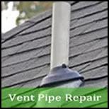 roof vent pipe leak repair Huntsville Alabama 35897