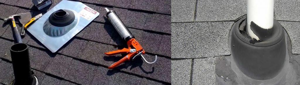 roof vent pipe repair Huntsville 35897