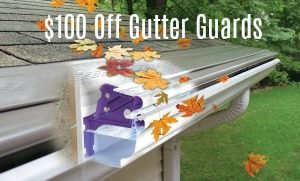 gutter guard discount coupons {city} {state]