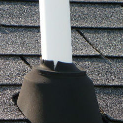 roof vent pipe leak repair Staffordsville VA